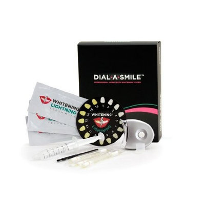 Whitening Lightning Professional Teeth Whitening Kit and Maintenence Pen Combo