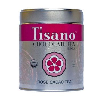 Tisano Organic Rose Cacao Tea - Loose Leaf - 04oz