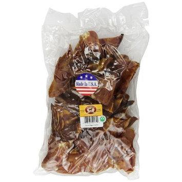 Smokehouse 100-Percent Natural Smoked Pig Ears Dog Treats, 24-Pack