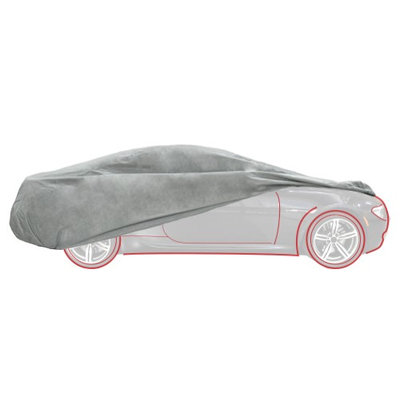 Detailers Preference® Strong Shell™ Car Cover - Large
