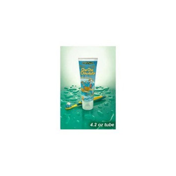 Cha Cha Chocolate Toothpaste - Chocolate Ice Cream Flavor- Naturally Delicious - No Artificial Colors - Gluten Free - Kids Friendly - 4.2 oz