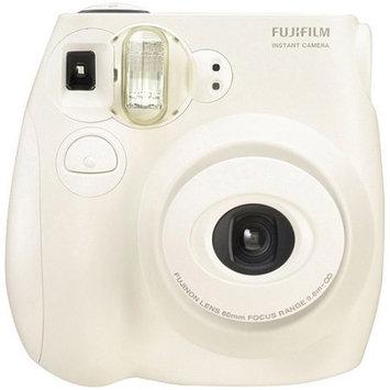 Panasonic Fujifilm 007410134707 Instax Mini 7S Instant Camera with Mini 10-Pack Film - F/12.7 - Silky White