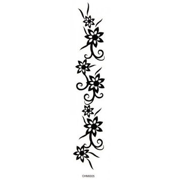 SPESTYLE waterproof non-toxic temporary tattoo stickerstemporary tattoos armbands waist tape flower temporary tattoos by SPESTYLE