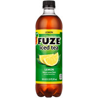 Coca Cola Fuze Iced Black Tea, Lemon, 20 Fl Oz, 24 Ct