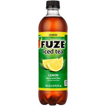 Coca Cola Fuze Iced Black Tea, Lemon, 20 Fl Oz, 24 Ct