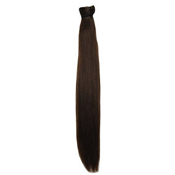 Cojune Human Hair Velcro Wrap Around Ponytail Extensions 100g per Piece Straight 20