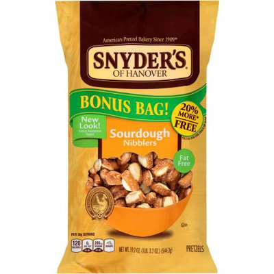 Snyder's Of Hanover Sourdough Nibblers Pretzels