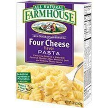 All Natural Farmhouse Four Cheese Favor Pasta 4 Oz [6 Pack]