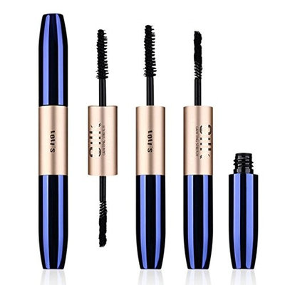 Kanzd Fiber Mascara Long Curling Black Eye Lash Eyelash Extension Waterproof Lasting Eye Makeup Tool Full Mascaras
