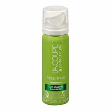 La Coupe Frizz-Free Curl Shaping Mousse- 2 Fl Oz Size- 6 Pack