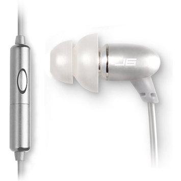 Jlab Audio Inc. JLAB JBuds J6M Metal Earbuds with Mic - Titanium Silver
