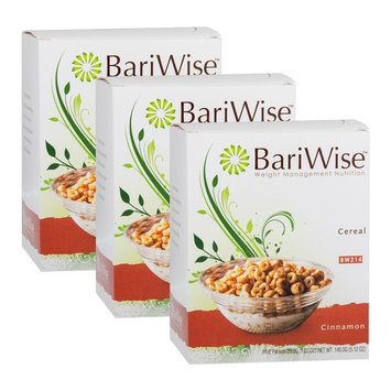 BariWise Low-Carb High Protein Diet Cereal - 15g Protein Per Serving - Cinnamon Flavored Cereal - 3 Box Value-Pack (Save 5%)