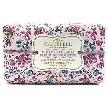 Castelbel Violet Blossom Luxury Soap - 10.5 oz Large Bar