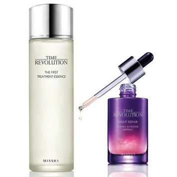Missha Time Revolution the First Treatment Essence Intensive 150ml + Night Repair Serum 50ml