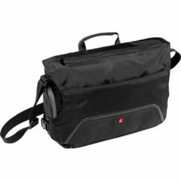 Large Advanced Befree Messenger Bag (Black)