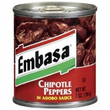 Embasa Chipotle Peppers in Adobo Sauce (12 oz., 2-pack) by Embasa
