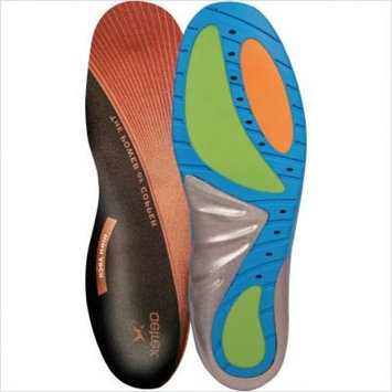 Aetrex Custom Select Series High Arch Orthotics Shoe Inserts for Men and Women - Women's 9