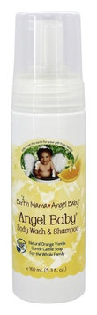 Earth Mama Angel Baby - Shampoo & Body Wash Orange Vanilla - 5.3 oz.