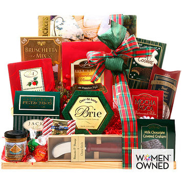 Alder Creek Upgraded Holiday Cutting Board Gift Basket