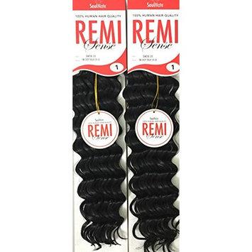 [2 PACKS DEAL!!! ] Deep Curl Human Hair Feel like Micro Braiding- Deep Curl 20~22