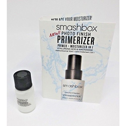 SMASHBOX Photo Finish Primerizer 0.13oz / 4ml Travel Size Primer + Moisturizer