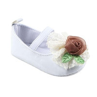 For 0-18 Months Girls,Clode® Cute Toddler Infant Newborn Baby PU Leather Soft Sole Prewalker with Big Flower Ballet Shoes Crib Shoes Sneaker