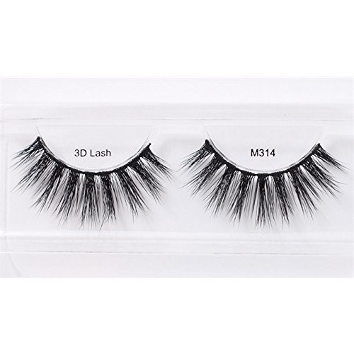 Miss 3D Volume Lash (Pack of 2) with Duo 0.09oz glue (M314)
