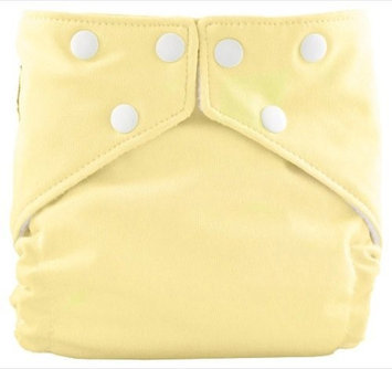 FuzziBunz One Size Elite Diaper - Canary Song