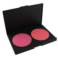 FantasyDay Pro 2 Colours Large Powder Blush / Blusher Makeup Palette Contouring Kit - Ideal for Professional and Daily Use