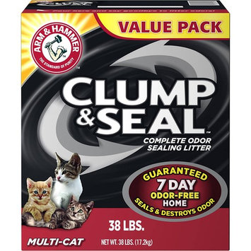 Arm & Hammer Multi-Cat Clump & Seal Clumping Litter (38 lbs. - Pack of 2)