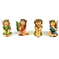 Midwest Design Little Girl Sitting Fairies 2