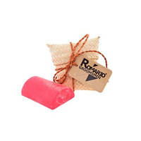 Romario Groomsmen - - PAPAYA WILD HONEY Aromatherapy Hand Made Luffa Soap (Natural Loofah Sponge Scrubber with Bar Soap) 100g Brightening Soft Skin in Unique Handcraft Packaging as Gifts Souvenir