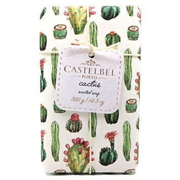 Castelbel Porto Cactus Scented Luxury Bath Soap Bar 10.5 ounces