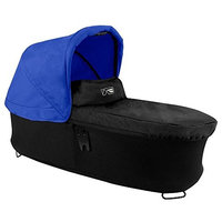 Mountain Buggy Carrycot Plus for Duet Double Stroller with Sunhood, Blue
