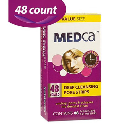 Etcbuys MEDca Deep Cleansing Pore Strips Combo Pack, 48 Count Strips