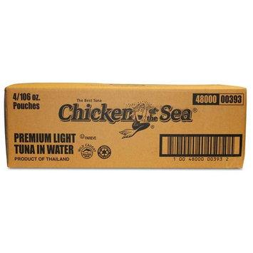 Chicken Of The Sea Premium Light Tuna Pouch, 106 Ounce - 4 per case.