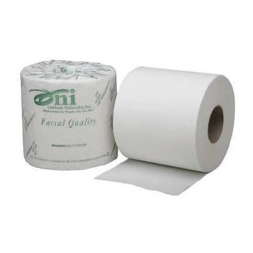 ABILITY ONE 8540-01-554-7678 Toilet Paper,White,Size 4 x 4 In.,PK 40
