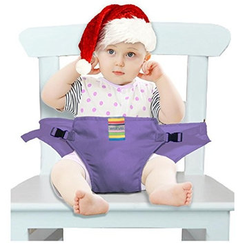 The Washable Portable Travel High Chair Booster Baby Seat with straps Toddler Safety Harness Baby feeding the strap (6 Color)
