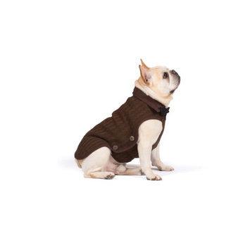 Dog Gone Smart Nano Knit Dog Sweater Brown