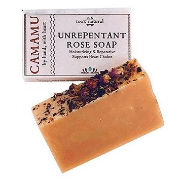 Unrepentant Rose Bar Soap: Camamu Soaps 4 oz.