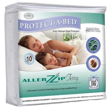 AllerZip Waterproof Bed Bug Proof Zippered Bedding Encasement, Twin XL DEEP Size (Fits 11