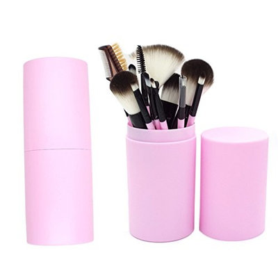 12PCS Make-up Brush suits make-up beauty tools 7 colors optional
