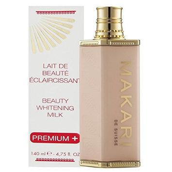 Makari Classic Premium+ Beauty Skin Whitening Milk 4.75 fl.oz – Intense Lightening, Brightening & Toning Body Lotion - Daily Moisturizing Treatment for Dark Spots, Acne Scars & Hyperpigmentation