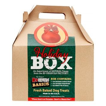 K9 Granola Factory Munch Box Holiday Box Dry Dog Treats