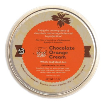 Heavenly Tea Inc. Heavenly Tea Leaves Chocolate Orange Cream Loose Leaf Tea Canister, 1.5 oz.