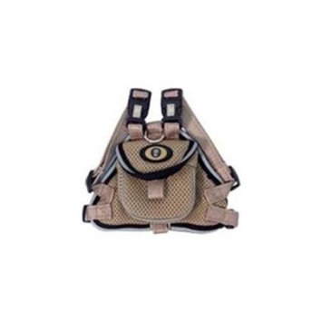 Hamilton Pet Soft Mesh Dog Harness With Backpack Small Tan MHP SMTN