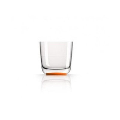Marc Newson PM860 Whisky Tumbler Nonslip Base Orange