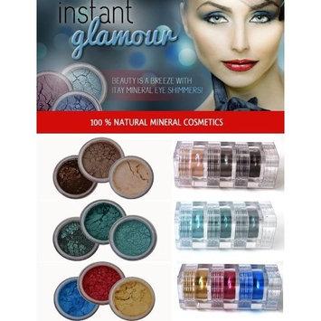 ITAY Beauty Mineral 3x3 Stacks Shimmer Eye Shadow Makeup (Sahara,Hillside,Samba)