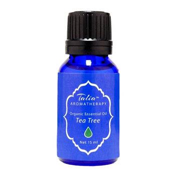 Organic Tea Tree Oil Essential Oil, Pesticide & Herbicide Free Talia Organics 15 ml Oil