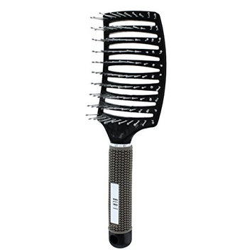 Beaut Select Curved Vent Brush Black